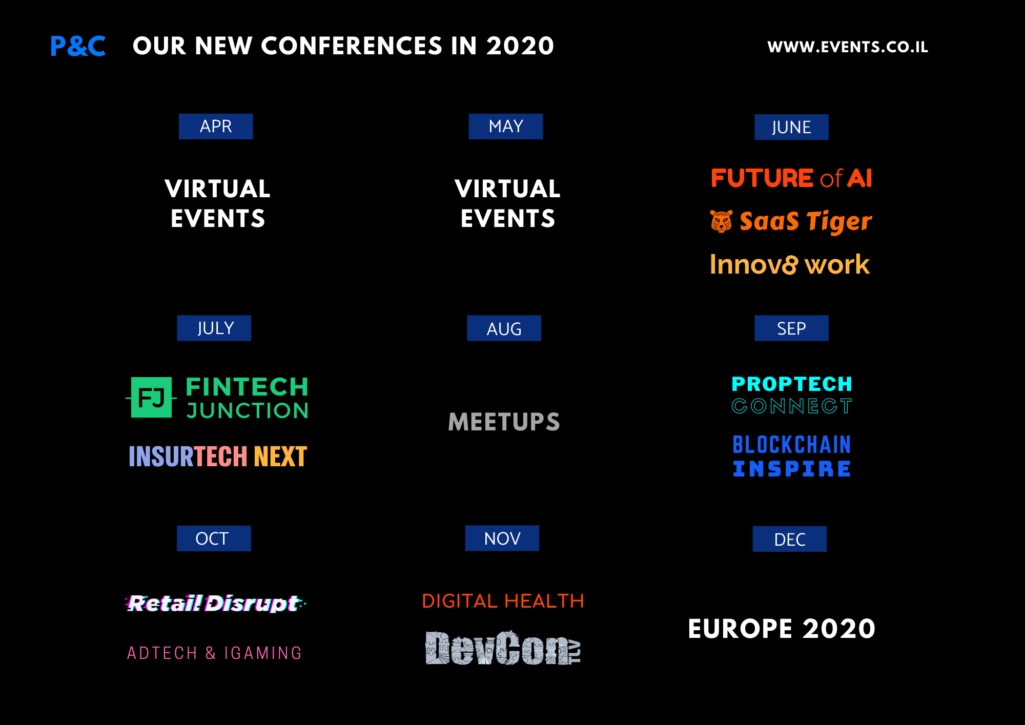 Event plan 2020